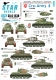 Star Decals 35-C1238 1/35 Cro-Army # 3. Croatian T-34/85 tanks