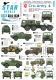Star Decals 35-C1239 1/35 Cro-Army # 4. Croatian wheeled AFVs and softskins 1991-95