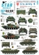 Star Decals 35-C1240 1/35 Cro-Army # 5. Croatian tracked AFVs and tanks 1991-93