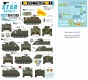 Star Decals 35-C1253 1/35 Vietnam ARVN # 3. M113 in South Vietnam army.