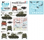 Star Decals 35-C1254 1/35 M4A3E8 Sherman #4. Rice's Red Devils - 89th Tank Battalion in Korea 1950-53.
