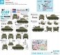 Star Decals 35-C1260 1/35 Royal Artillery # 3. Sherman OP tanks and M7 Priest HMC in NW Europe