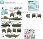 Star Decals 35-C1263 1/35 British Tanks & AFVs in Holland. Sherman Mk V, Sherman Crab, DUKW, Terrapin.