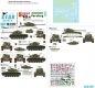 Star Decals 35-C1267 1/35 USMC M26/M26A1 Pershing. Marine Corps in Korea 1950-53