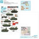 Star Decals 35-C1277 1/35 Vietnam # 5. NVA North Vietnamese tanks and AFVs