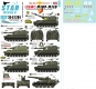 Star Decals 35-C1284 1/35 Big Guns in Vietnam # 1. USMC M109 and M110 SP Guns.