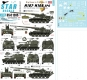Star Decals 35-C1285 1/35 Big Guns in Vietnam # 2. US M107 and M108 SP Guns.