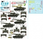 Star Decals 35-C1287 1/35 Big Guns in Vietnam # 4. US M110 8 inch SP Guns.