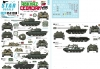 Star Decals 35-C1288 1/35 War in Caucasus # 2. Abkhaz-Georgian War 1992-93. T-55 / T-55M / T-55A / T-55AM