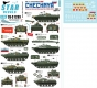Star Decals 35-C1289 1/35 War in Caucasus # 3. 1st and 2nd Chechen War 1994-2009. Soviet BMD-1 and BMP-1P