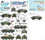 Star Decals 35-C1291 1/35 War in Caucasus # 5. 1st and 2nd Chechen War 1994-2009. Soviet BTR-70, BRDM-2, BRDM-2 Konkurs.