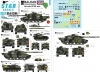 Star Decals 35-C1294 1/35 Balkan Peacekeepers # 12. British SFOR mix. Challenger I, Challenger 2, Scimitar CVR(T) and FV432.