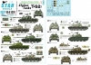 Star Decals 35-C1297 1/35 Afghan Tanks T-62. Northern Alliance, Taliban & Afghanistan National Army. T-62A and T-62AM