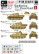 Star Decals 35877 1/35 Befehls Panther Ausf D. Staff and HQ tanks
