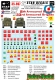 Star Decals 35967 British 8th and 33rd Armoured Brigade Formation and AoS markings (1:35)