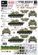 Star Decals 35975 Syrian T-54 and T-55 Tanks Yum Kippur War 1973 (1:35)