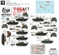 Star Decals 48-B1001 1/48 T-55A Cold War