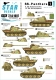 Star Decals 72-A1007 1/72 SS-Panthers #1. 9.SS-Hohenstaufen and 12.SS-Hitlerjugend