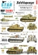 Star Decals 72-A1014 1/72 Befehlspanzer # 5. Bef.Pz. Tiger I and Tiger 2.