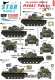 Star Decals 72-A1017 1/72 M48A3 Patton. 69th Armored Regiment in Vietnam.