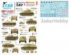 Star Decals 72-A1025 German Tanks in Italy # 5. Battle for Cassino 1944.