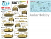 Star Decals 72-A1026 German Tanks in Italy #6