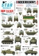 Star Decals 72-A1028 1/72 Indochine # 1. The Foreign Legion. M29C Crabe, M3A1 White SC, Greyhound, M5A1 Stuart . . .