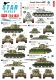 Star Decals 72-A1031 1/72 Finnish Tanks in WW2 # 3. T-34 m/1941, T-34 m/1943 and T34/85