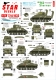 Star Decals 72-A1033 1/72 US M4 Sherman. 75th-D-Day-Special.Normandy and France in 1944