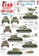Star Decals 72-A1037 1/72 Cro-Army # 1. Croatian T-34/85 tanks 1991-95