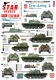 Star Decals 72-A1038 1/72 Cro-Army # 2. Croatian T-55 tanks 1991-92