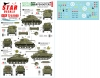 Star Decals 72-A1040 1/72 British Sharpshooters. 75th D-Day Special. Sherman tanks of 3rd/4th CLY.
