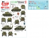 Star Decals 72-A1041 1/72 British Shermans. 75th D-Day Special. Sherman Mk I / Mk II / Mk III / Mk I Hybrid.