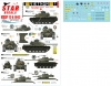 Star Decals 72-A1042 1/72 Vietnam ARVN # 1. M24 Chaffee, M41 Walker Bulldog and M48A3 Patton in South Vietnam