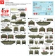 Star Decals 72-A1047 1/72 Walcheren Landings. British tanks and amphibians in Holland 1944-45.