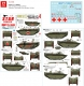 Star Decals 72-A1048 1/72 British LVT-4 Buffalo. British LVT-4 in Holland 1944-45