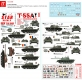 Star Decals 72-A1049 1/72 T-55A Cold War