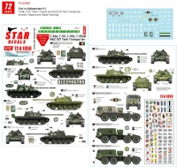Star Decals 72-A1050 1/72 T-55A Afghanistan #1