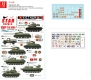 Star Decals 72-A1055 1/72 Vietnam # 5. NVA North Vietnamese tanks and AFVs.