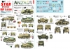 Star Decals 72-A1064 1/72 ANZAC # 1. New Zealand and Australian tanks and AFVs in Africa and Middle East WW2.