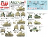 Star Decals 72-A1065 1/72 ANZAC # 2. New Zealand and Australian tanks and AFVs in Africa and Middle East WW2