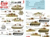 Star Decals 72-A1067 1/72 Tigers of sPzAbt 508. Tiger I and Tiger 2 on the Eastern Front