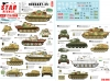 Star Decals 72-A1068 1/72 Hungary '45 # 1. German tanks and AFVs in Hungary 1944-45