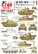 Star Decals 72-A1070 1/72 Wiking # 1. SS-Pz.Reg. 5. Panthers. Panther Ausf D and Ausf A in kp 5 / 6 / 7 / 8.