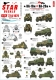 Star Decals 72-A1079 1/72 BA-10M and BA-20M. Armored cars in Foreign service. Germany, Sweden, Finland, ROA, RONA.