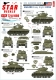 Star Decals 72-A1080 1/72 US Armor Mix # 1. US M4A3E8 'Easy Eight' tanks in NV Europe 1944-45.