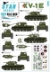 Star Decals 35-C1306 1/35 KV-1E Heavy Tank.