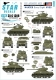 Star Decals 35-C1308 1/35 US Armored Mix # 1. M4A3E8 'Easy Eight' HVSS in Europe 1944-45.