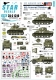 Star Decals 35-C1310 1/35 US Armored Mix # 3. 6th Armored Division in Europe. M4 Sherman, M5A1 Stuart and M3A1 Halftrack