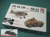 SuperModel 10-501 1/48 CR.42 LW and AB 41 Autoblinda